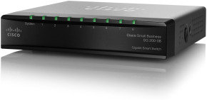 Cisco SLM2008T-UK - Small Business 200 Series 8-port Gigabit Smart Switch