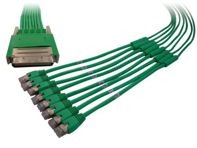 Cisco High Density RJ45 Cable 8 Ports