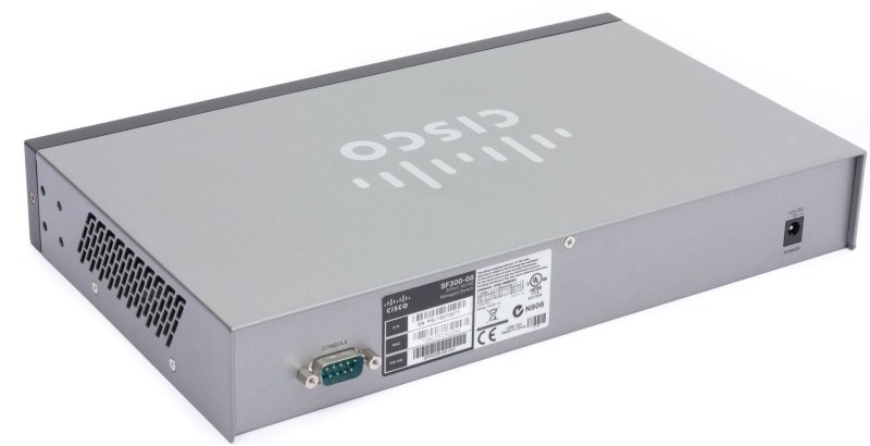 Cisco SRW208-K9-G5 - Small Business 300 Series 8-port 10/100 L3 Managed Switch