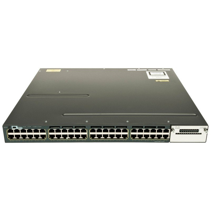 Cisco Catalyst WS-C3560X-48PF-E - 3560X 48 Port Full PoE IP Services Switch