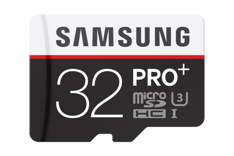Samsung Pro Plus 32GB Micro SD Flash Card With SD Adapter Memory Card