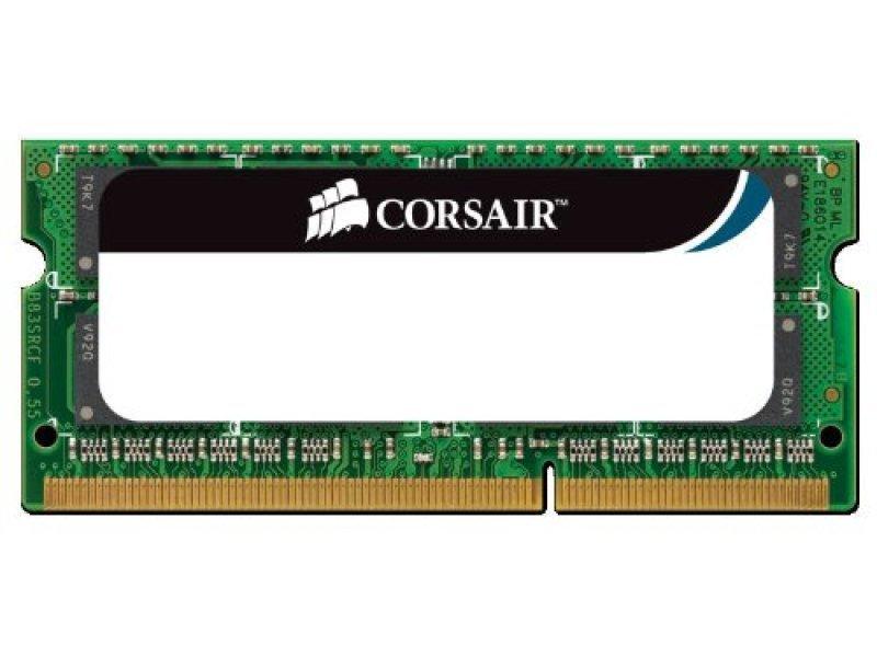 Corsair 8GB DDR3L 1600MHZ 1x204 SODIMM Unbuffered Laptop Memory