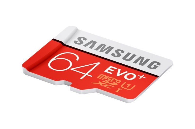 Samsung Evo Plus 64GB Micro SD Flash Card With SD Adapter Memory Card
