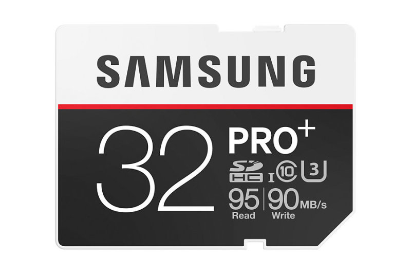 Samsung Pro Plus 32GB SD Flash Card