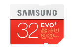 Samsung 32GB Evo Plus SD Flash Card