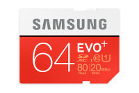 Samsung 64GB Evo Plus SD Flash Card
