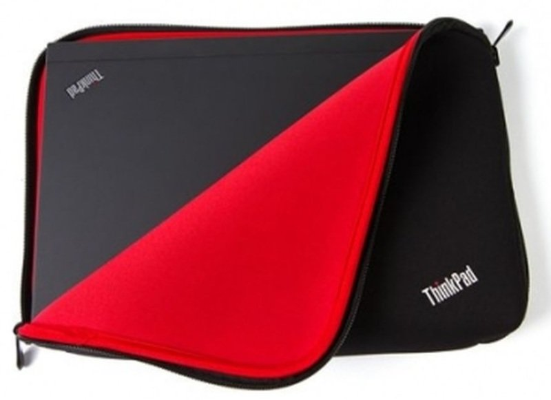 Lenovo ThinkPad Fitted Reversible Sleeve  Notebook sleeve  12  black red  for ThinkPad Edge E145 ThinkPad X240