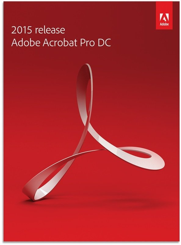 Image of Acrobat Pro DC 2015 Windows Commercial- Electronic Software Download