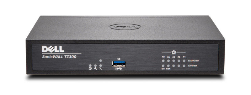 Dell Sonicwall 01-SSC-0581- Tz300 Total secure 1Year