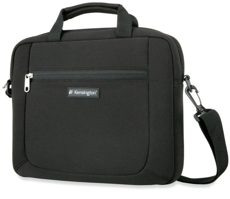 Image of Kensington Neoprene Laptop Notebook Carry Case For up to 15.4 Laptops - Black