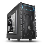 Thermaltake Versa H13 M-atx Gaming Case With Side Window Usb3 Black Interior