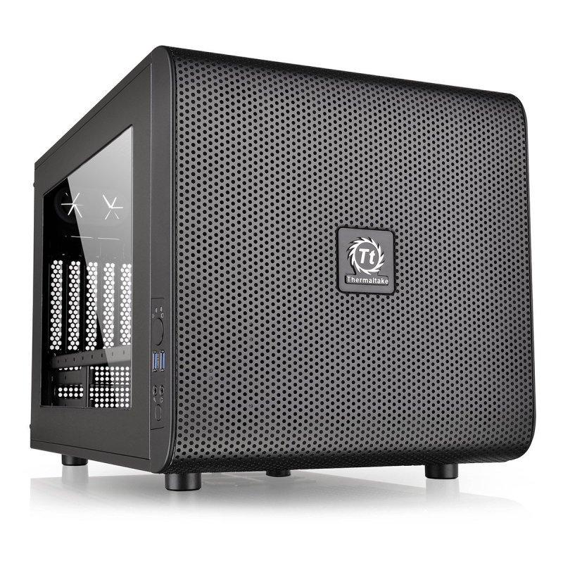 Thermaltake Core V21 Usb3.0 Micro-atx Side Window Mesh Stackable Case Black