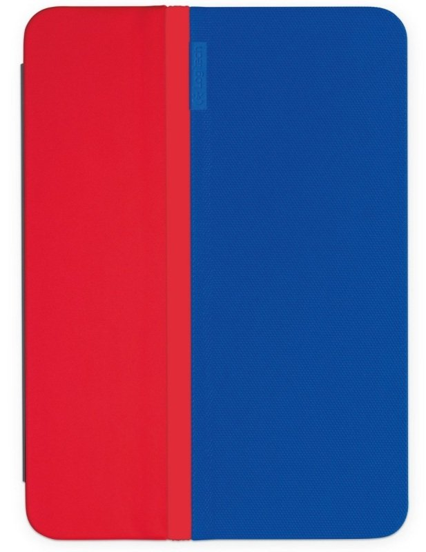 Logitech AnyAngle Protective Case with anyangle stand for iPad mini  BLUE&RED  NA  EMEA