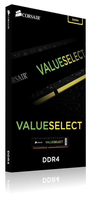 Corsair Value Select 8GB DDR4 2133MHz 1.20v DIMM Memory