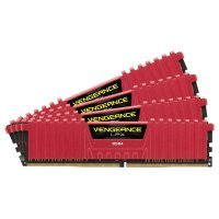 Corsair Vengeance LPX Red 16GB Kit (4x4GB) DDR4 3200mhz 1.35v Standard Dimm