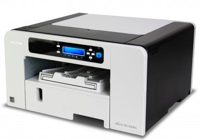 Ricoh SG-2100N A4 Colour Simplex Network GelJet Printer