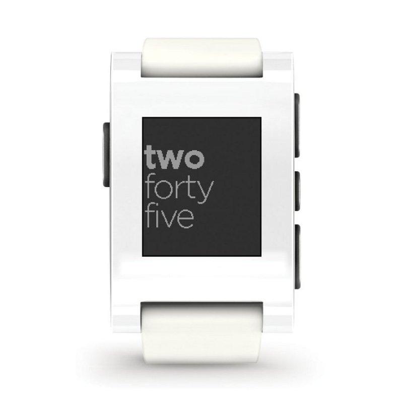 301WH  Pebble Smartwatch  Arctic White