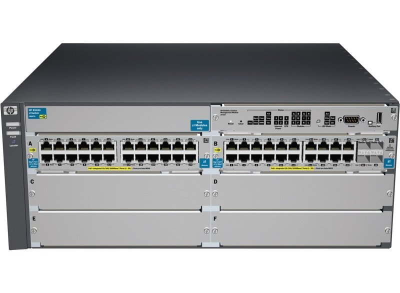 HPE 5406-44G-PoE+-4G-SFP v2 zl Switch with Premium Software