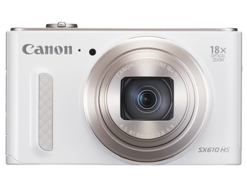 Canon PowerShot SX610 HS Digital Compact Camera  20.2mp. 18x Optical Zoom Wifi  White