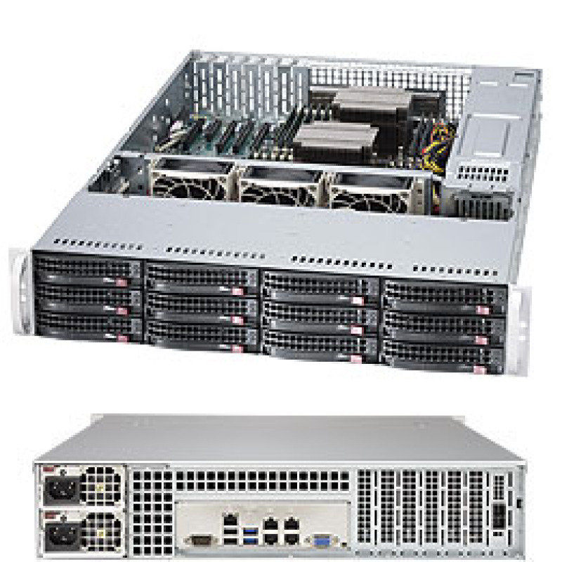 Supermicro SuperStorage Server 6028R-E1CR12N 2U Rackmount