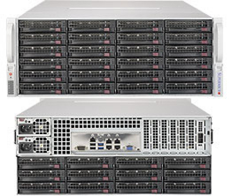 Supermicro SuperStorage Server 6048R-E1CR36N 4U Rackmount