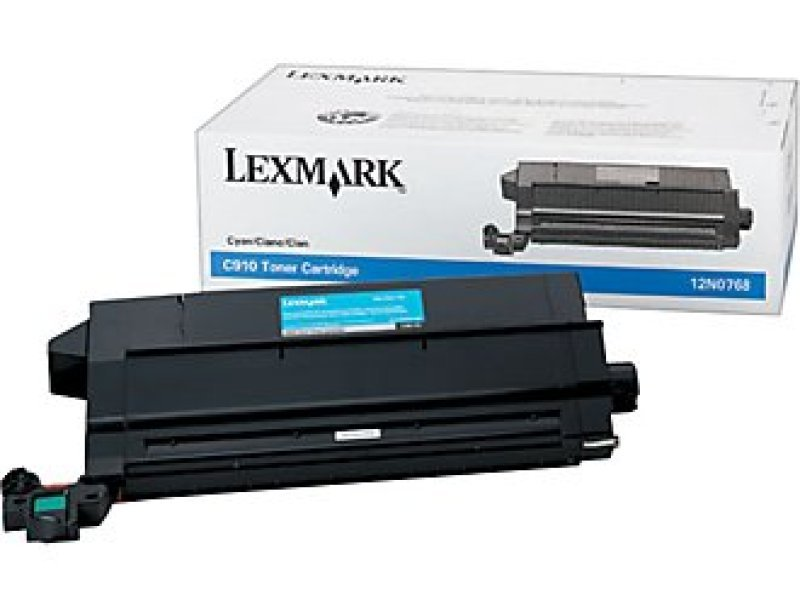 Lexmark 12N0768 Cyan Toner Cartridge