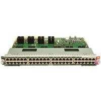 Cisco Catalyst 4500E 48-port Upoe - 10/100/1000(RJ45) Expansion Module