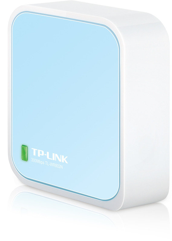 TPLink TLWR802N  300Mbps Wireless Nano Router