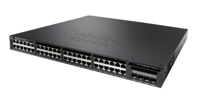 Cisco WS-C3650-48FS-S - Catalyst 3650-48FS-S Managed Switch