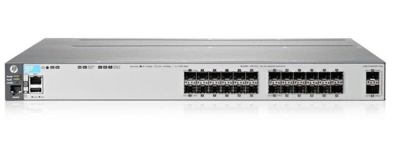 Aruba 3800 24SFP 2SFP Switch
