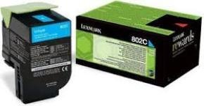 Lexmark 802C Cyan Toner Cartridge