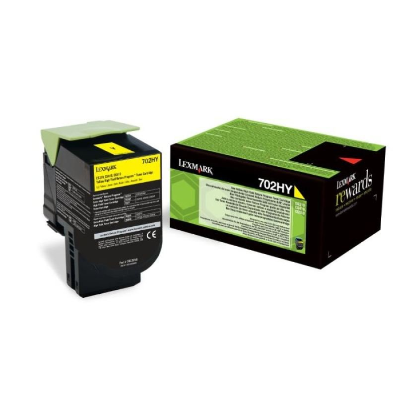 Lexmark 802Y Yellow Toner Cartridge