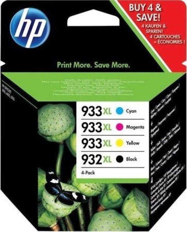 HP 932XL933XLCMYK Rainbow Kit  CN053AECN054AECN055AECN056A