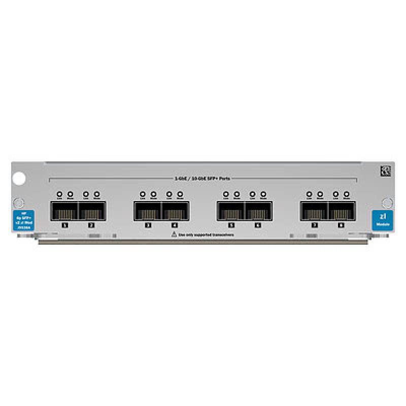 Hp J9538a 8 Port 10 Gbe Sfp V2 Zl Module Ebuyer Com