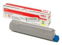 *OKI C8600 Toner Cartridge Yellow