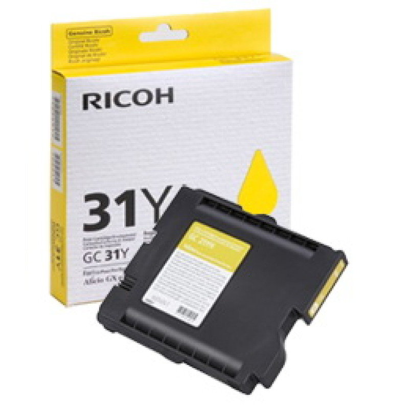*Ricoh GC 31Y Yellow Ink Cart