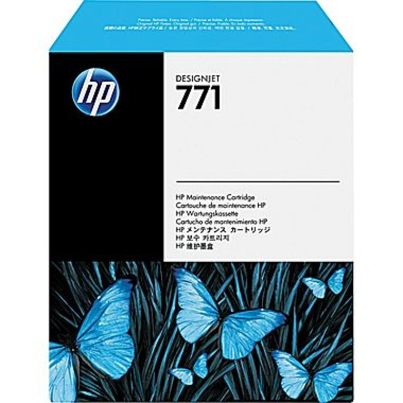 HP 771 Designjet Maintenance Cartridge - CH644A