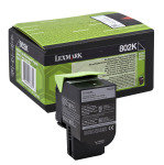 Lexmark 802k Black Toner Cartridge