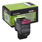 Lexmark 802m Magenta Toner Cartridge