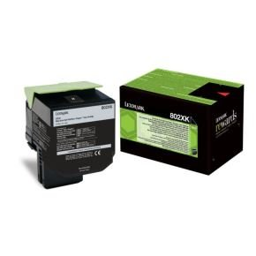 Lexmark 80C2XK0 Black Toner Cartridge
