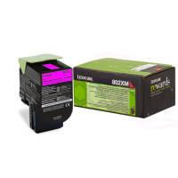 Lexmark 80C2XM0  Magenta Toner Cartridge