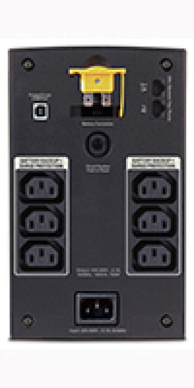 APC Back-UPS 700 Watt / 1400 VA, 230V, AVR, IEC Sockets - BX1400UI