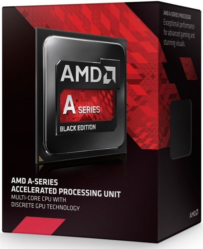 AMD A107870K Black Edition 3.9GHz Socket FM2 Retail Boxed Processor