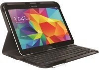 EXDISPLAY Logitech Ultrathin Keyboard Protective Case For Samsung Galaxy Tab 4 10.1
