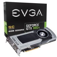 EVGA GTX 980 Ti Superclocked GAMING 6GB GDDR5 DVI HDMI 3x DisplayPort PCI-E Graphics Card