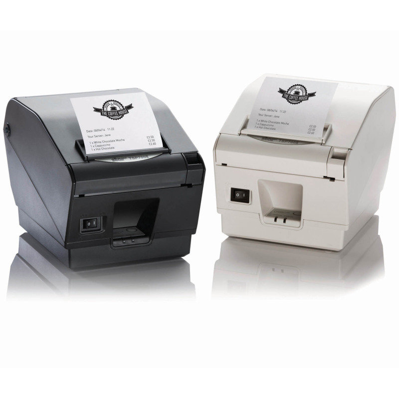Star TSP743 Ii -24 High Speed Receipt Printer - Grey