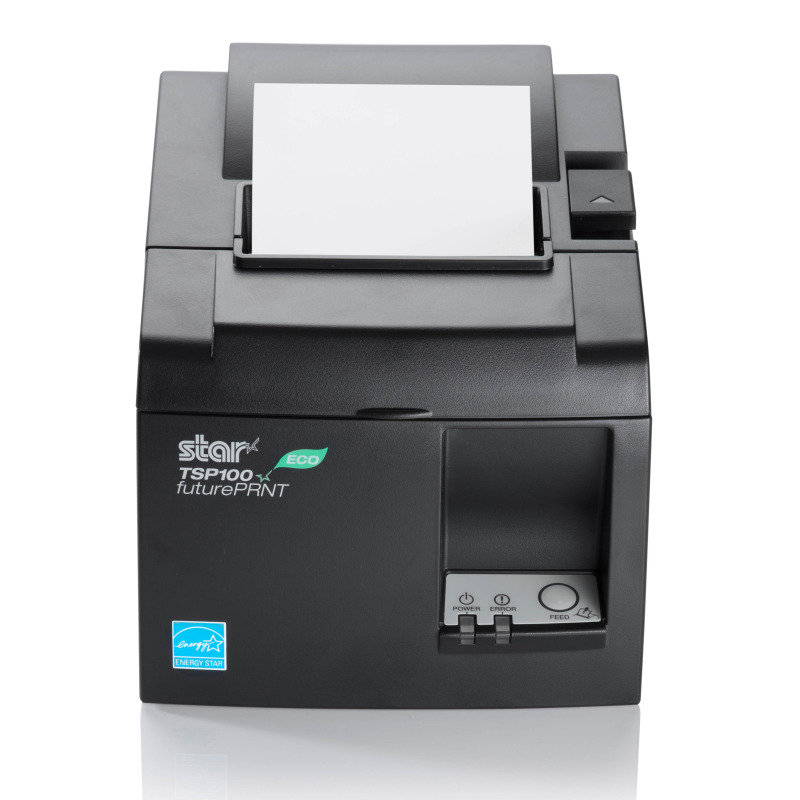 Star futurePRNT TSP143IIU ECO Direct Thermal Printer - Grey