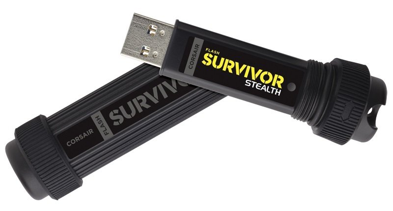 Corsair Flash Survivor Stealth 32GB USB 3.0 Flash Drive