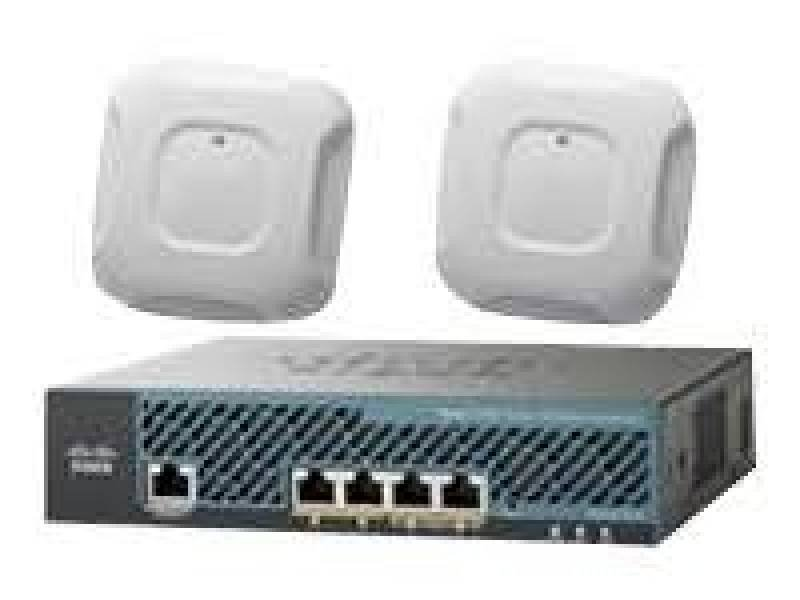 Image of Cisco Mobility Express AP3700i Access Point and 2504 Wireless Controller With 25 Licenses Included