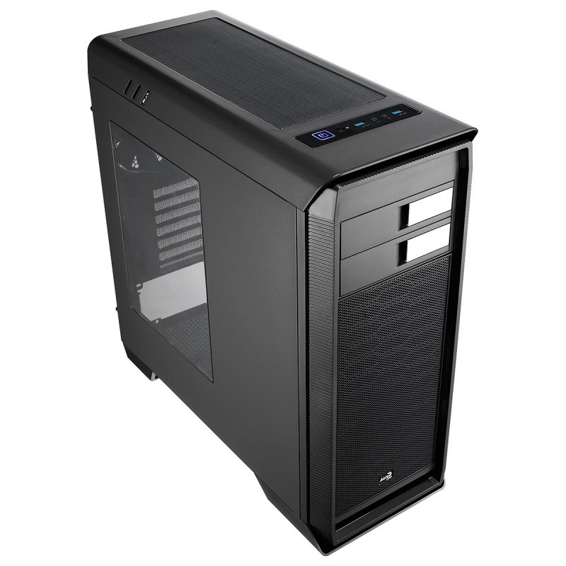 Aerocool Aero-1000 Black Case With Side Window